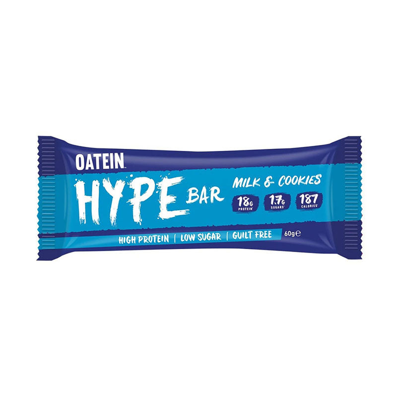 Oatein Hype Bar - Milk & Cookies - Box of Protein
