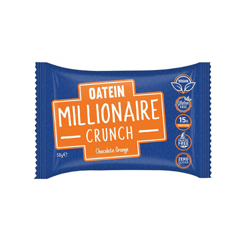 Oatein Vegan Millionaire Crunch - Chocolate Orange | Box of Protein