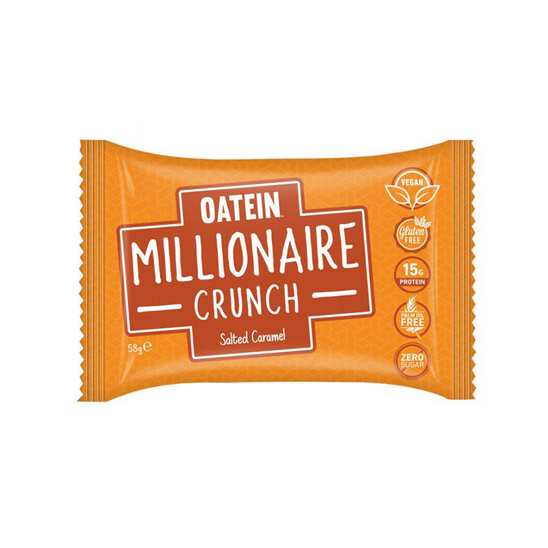 Oatein Vegan Millionaire Crunch - Salted Caramel | Box of Protein