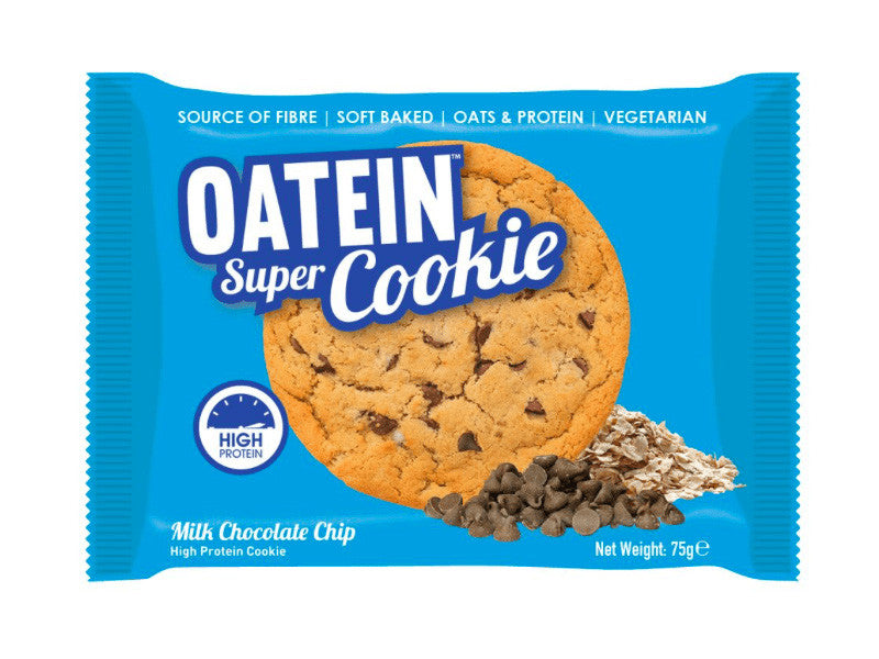 Oatein Super Cookie - Milk Chocolate Chip - Box of Protein