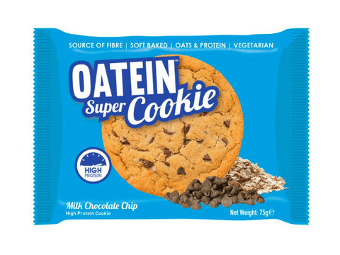Oatein Super Cookie - Milk Chocolate Chip (75g) - Box of Protein