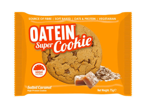 Oatein Super Cookie - Salted Caramel (75g) - Box of Protein