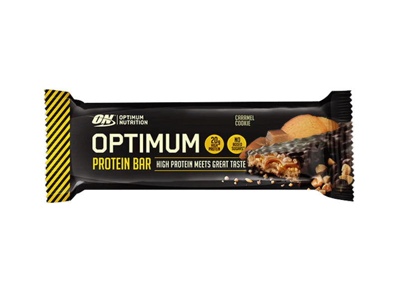 Optimum Nutrition Optimum Bar - Caramel Cookie - Box of Protein