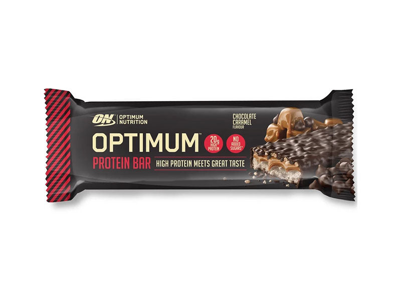 Optimum Nutrition Optimum Bar - Chocolate Caramel - Box of Protein