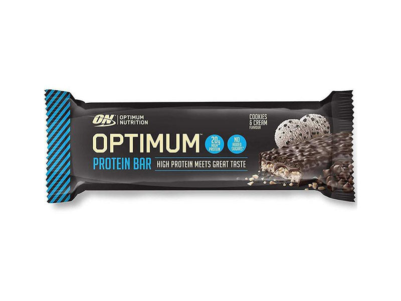 Optimum Nutrition Optimum Bar - Cookies & Cream - Box of Protein
