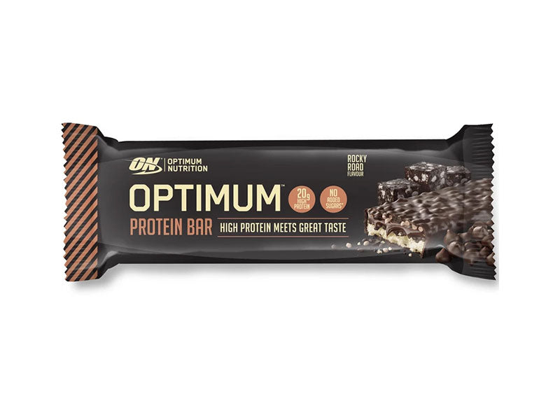 Optimum Nutrition Optimum Bar - Rocky Road - Box of Protein