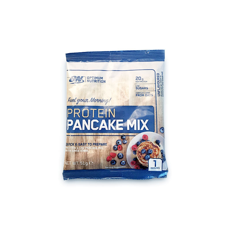Optimum Nutrition Protein Pancake Mix - Unflavoured - Box of Protein