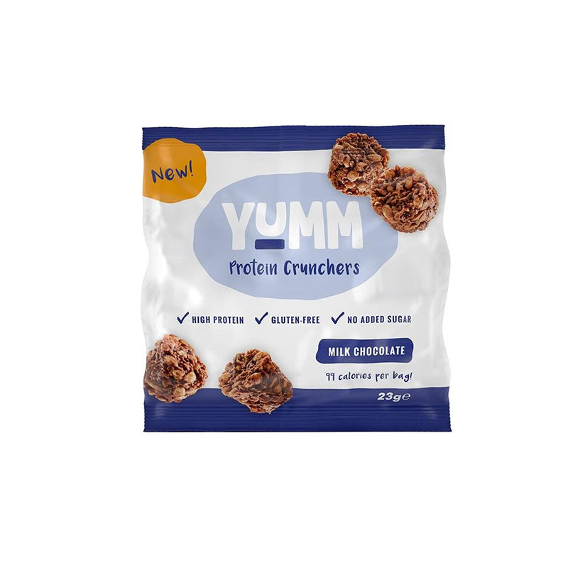 Protein Dynamix Yumm Protein Crunchers - Milk Chocolate - Box of Protein