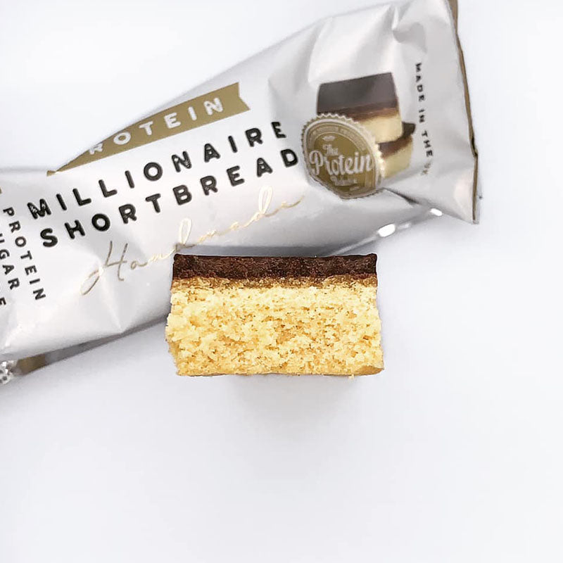 The Protein Bakery Handmade Protein - Millionaire Shortbread - Box of Protein