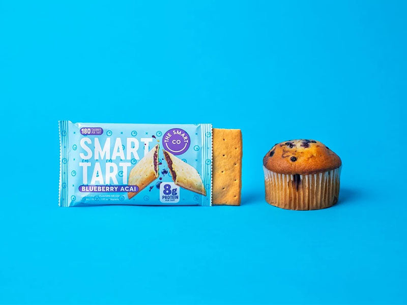 The Smart Co Smart Tart - Blueberry Acai - Box of Protein