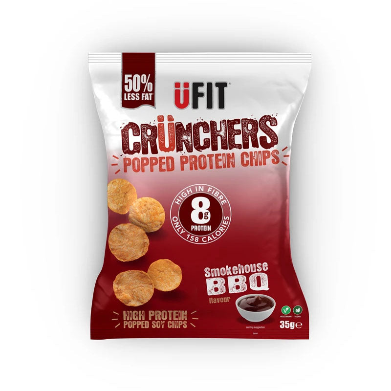 UFIT Crunchers - Smokehouse BBQ - Box of Protein
