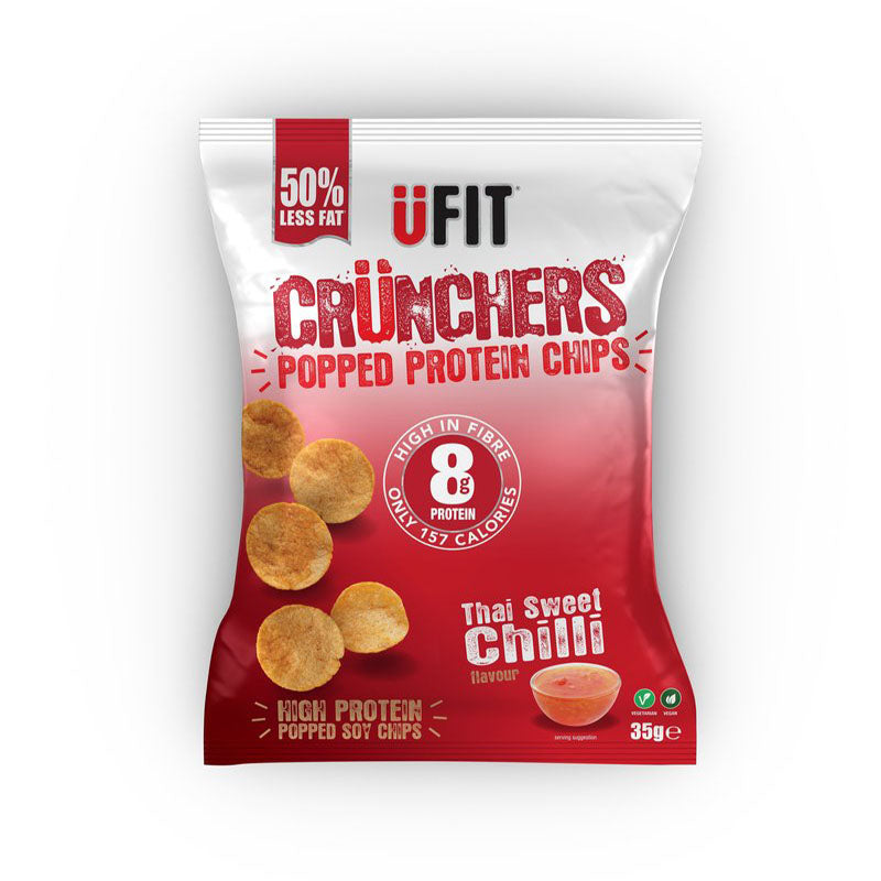 UFIT Crunchers - Thai Sweet Chilli - Box of Protein