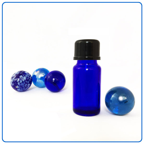Blue Glass Bottle - 10ml