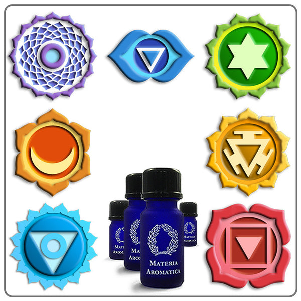 Chakra Blends - Complete Set of 7 Blends, Chakra - Materia Aromatica