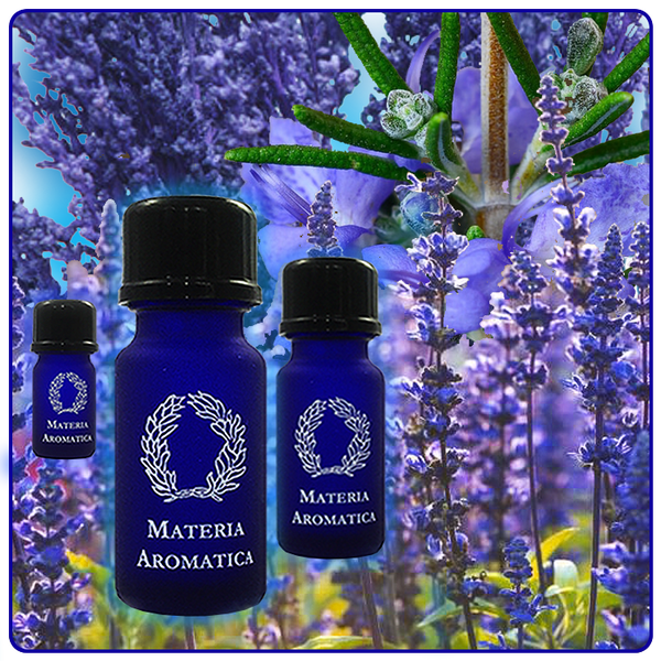 Blue Colour Scent Essential Oil Blend