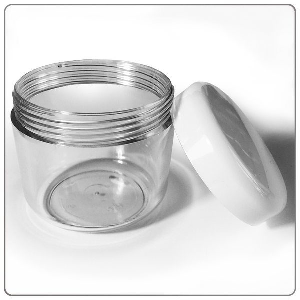 Clear Acrylic Jar - 100ml