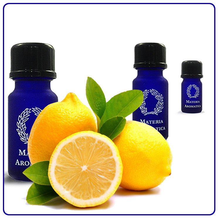 Lemon, Essential Oil - Materia Aromatica