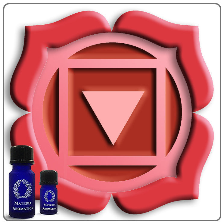 Resourceful Strength - Base, Chakra - Materia Aromatica
