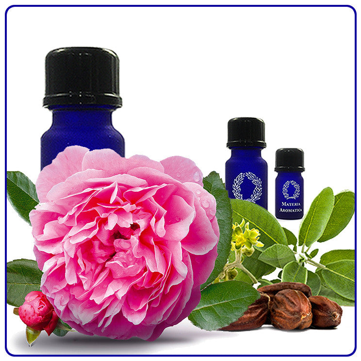 Rose absolute, in Jojoba, Essential Oil - Materia Aromatica