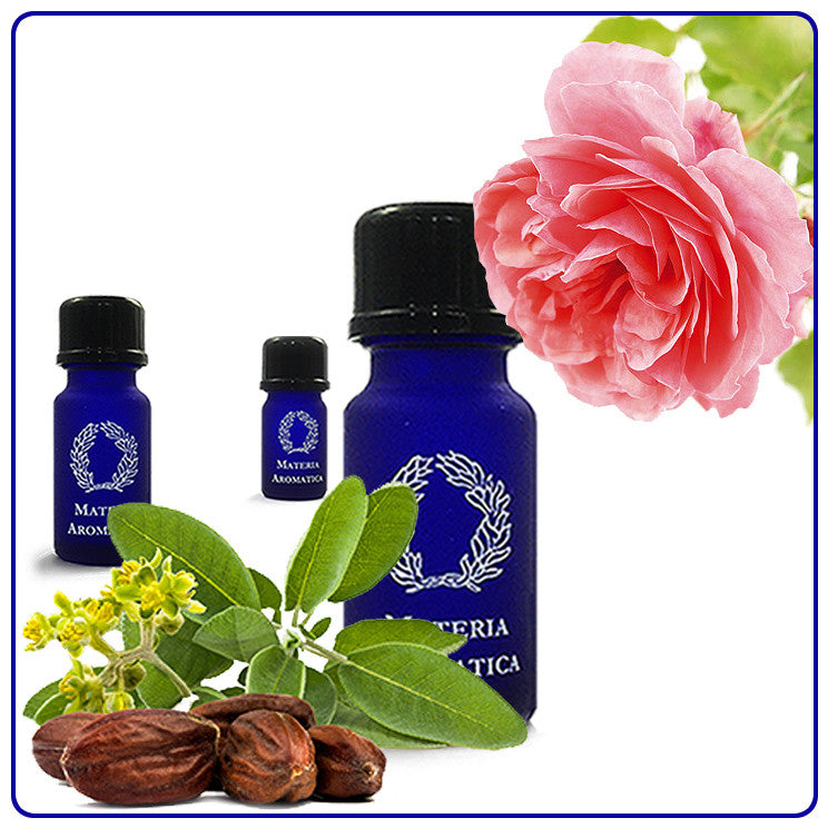 Rose Otto, in Jojoba, Essential Oil - Materia Aromatica