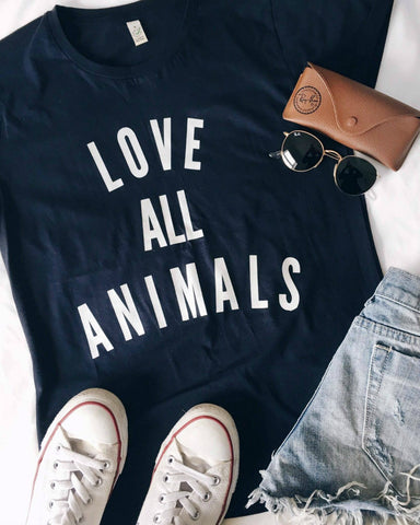 'Love All Animals' T-Shirt