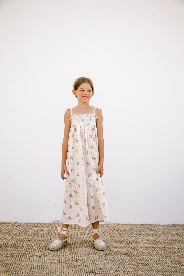 Wilma Smocked Overall