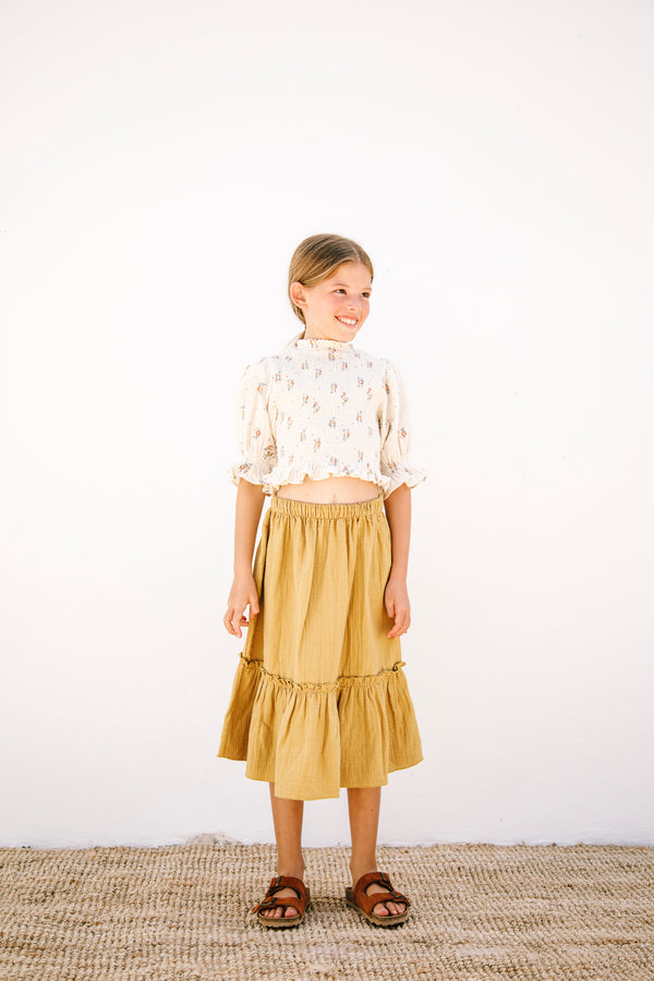 Bettina Smocked Blouse