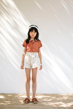 Pia Smocked Shorts
