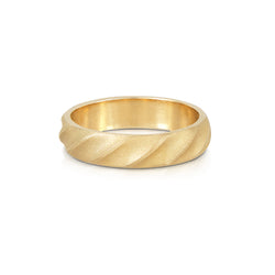 Men's Gold Wedding Band