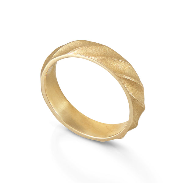 Chunky Gold Band Ring
