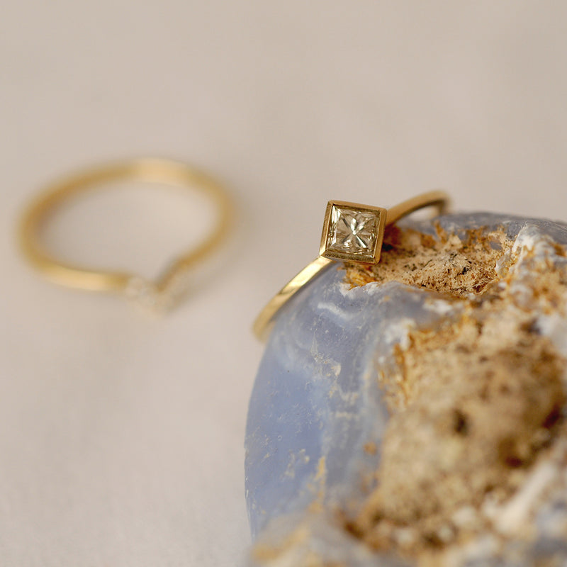 Ethical Gold and Diamond Ring