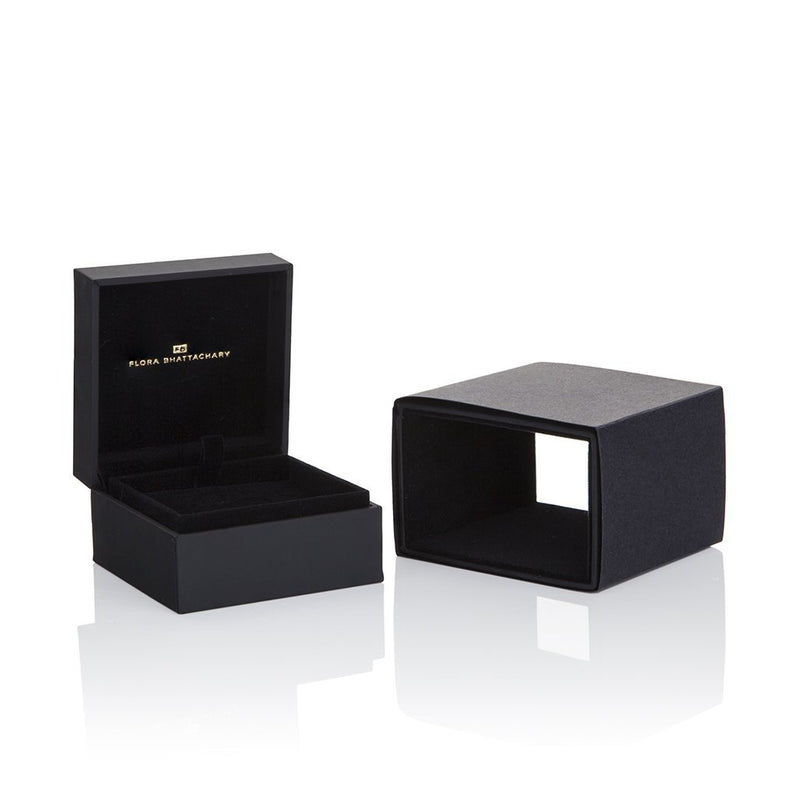 Black and Gold Luxury Jewellery Boxes Flora Bhattachary