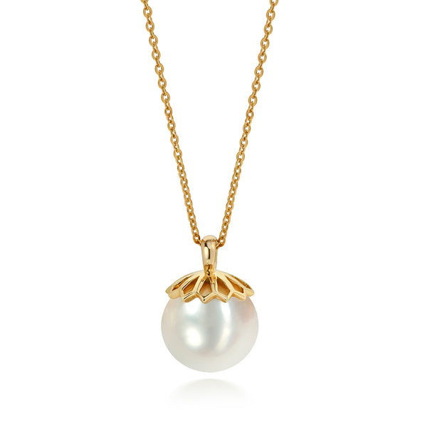 White Pearl Drop Pendant