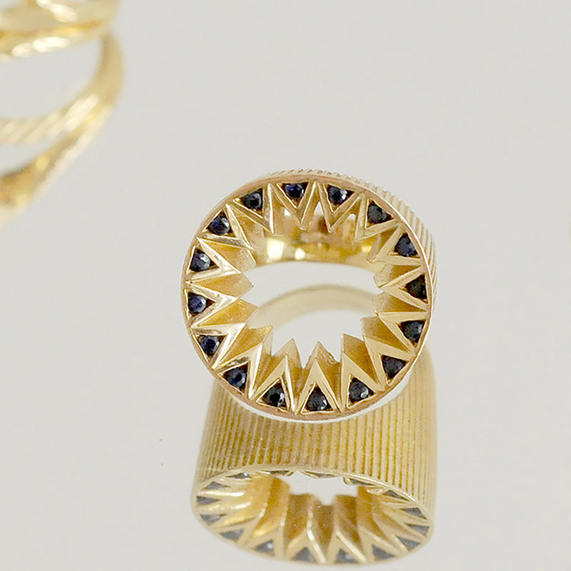 Black Diamond Taxila Ring