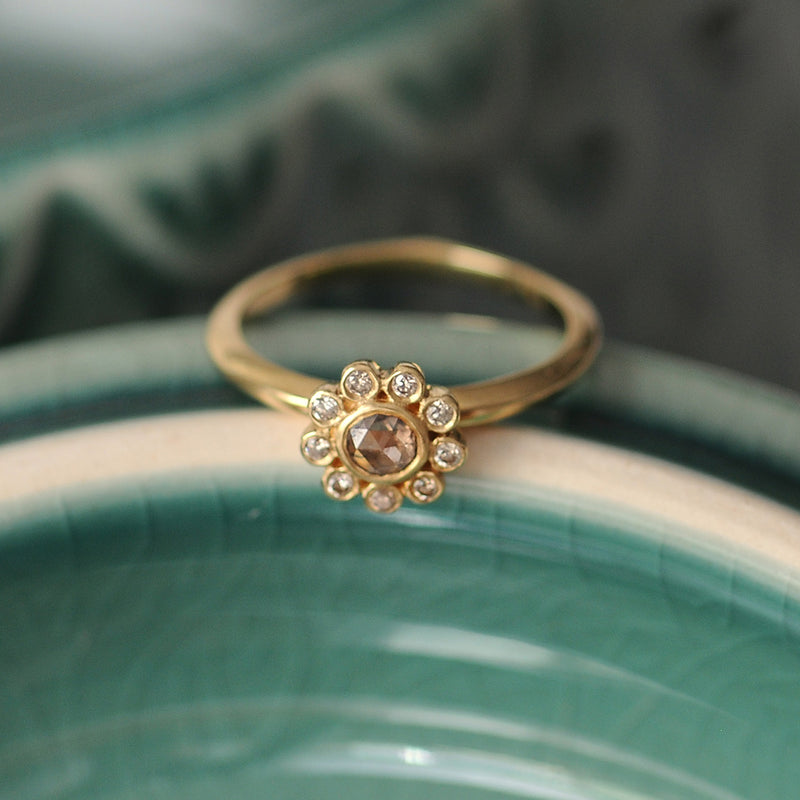 Aditi Brown Diamond Ring