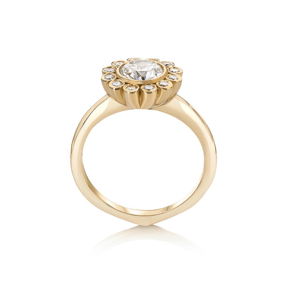 Aditi Cluster Engagement Ring