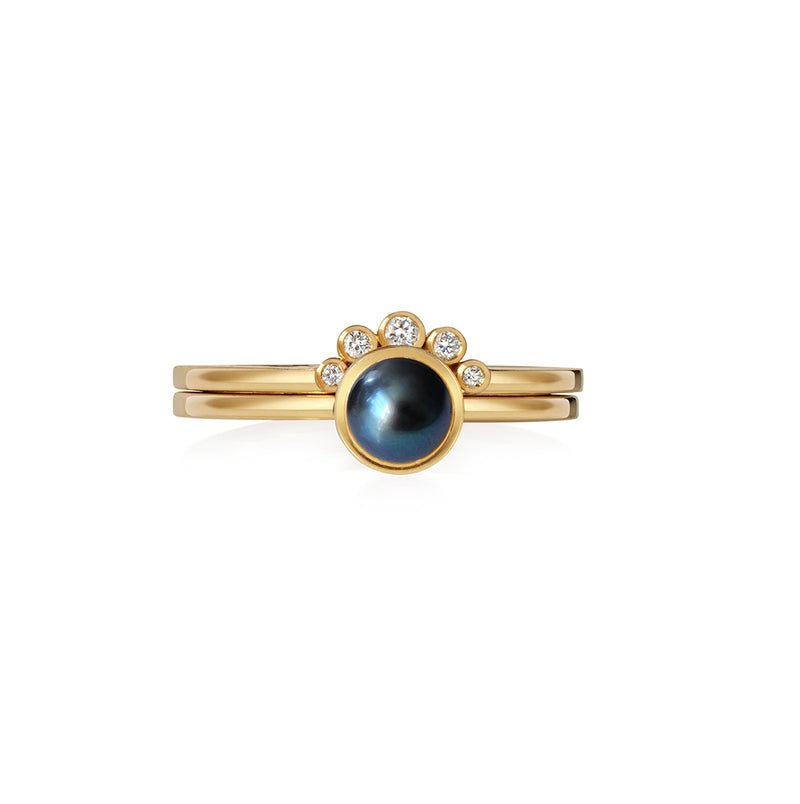 Peacock Chandri Pearl Ring