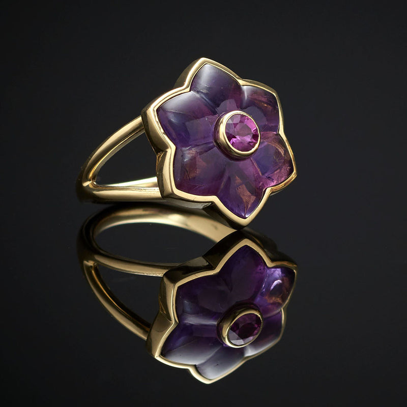 One of a Kind Flower Ring
