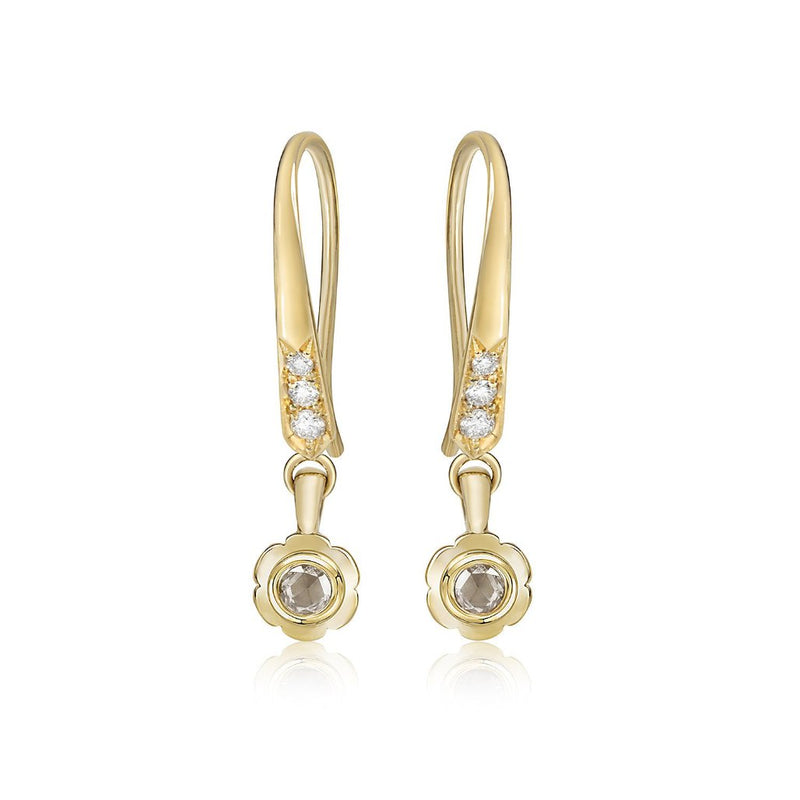 Pankhuri Diamond Drop Earrings