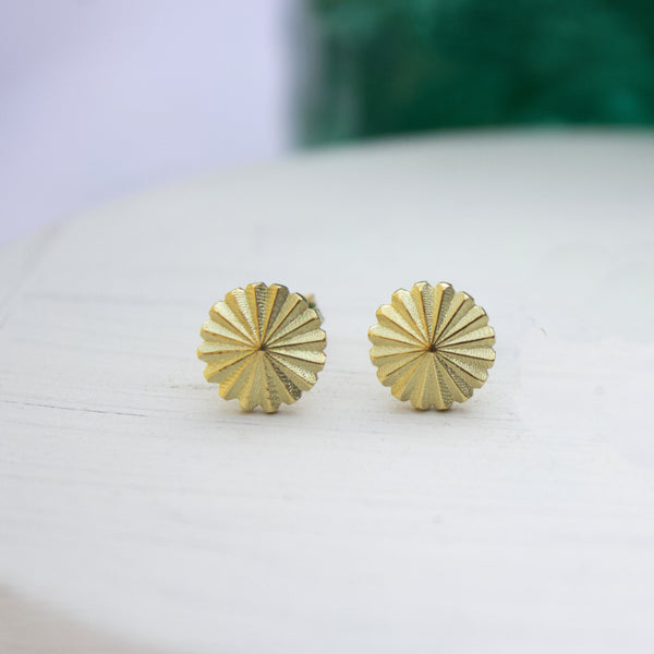 Radial Gold Studs