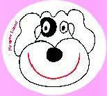 My Wee Friend - Potty Training Aid - Watch the smiling Dog appear when child uses the potty