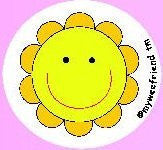 My Wee Friend - Potty Training Aid - Watch the smiling Sunflower appear when child uses the potty