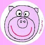 My Wee Friend - Potty Training Aid - Watch the smiling Pig appear when child uses the potty