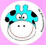 My Wee Friend - Potty Training Aid - Watch the smiling Blue Cow appear as a reward when child uses the potty
