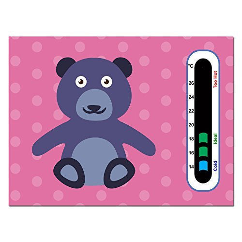 Baby Safe Ideas Cheeky Bear Nursery Room Thermometer Card
