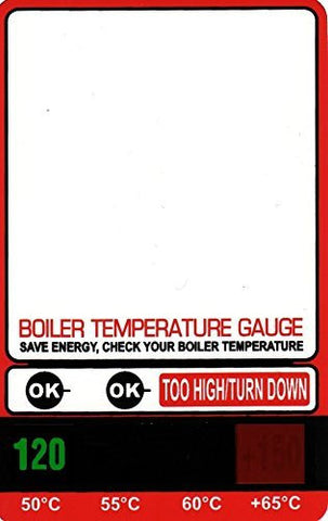 Boiler Hot Water Temperature Monitor Gauge