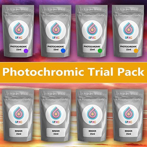 SFXC Photochromic Ink Trial Pack