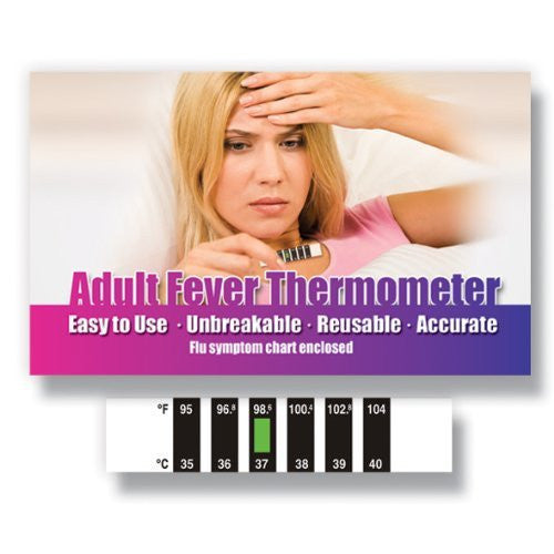 Forehead Thermometer for Cold, Flu & Fever with Information Pack