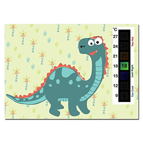 Baby Dinosaur Nursery Room Safety Temperature Thermometer Monitor