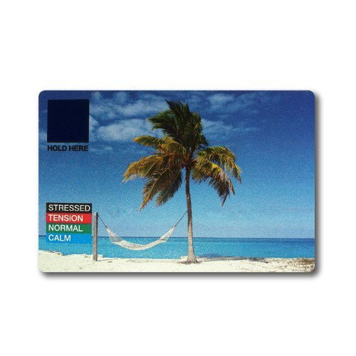 Beach Scene - Stress Mood Card